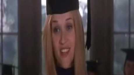 Slightly freckled and in a wig, I'm sure nobody noticed Elle's subtle differences in the film's final moments.