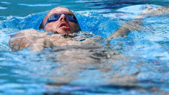 South Australian swimmer Kyle Chalmers heads to the Commonwealth Games in great form. Picture: AAP