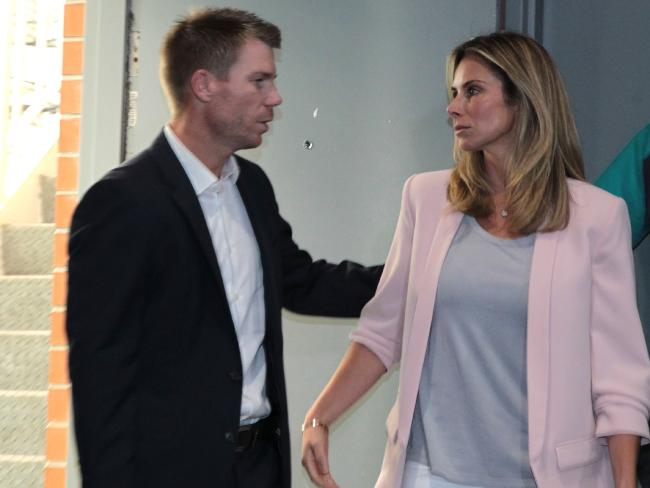 Warner and wife Candice are going through hell.