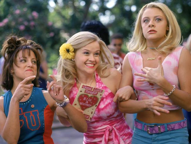 Elle Woods almost didn't give her climatic end of film speech. /Films/Titles/Legally/Blonde