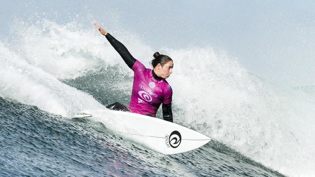 Australian surfer Tyler Wright is out of the Rip Curl Pro.