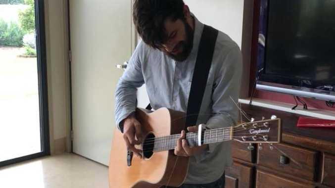 Toowoomba musician Dylan Crowe.