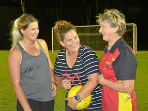 Women's football growing at Gatton Redbacks