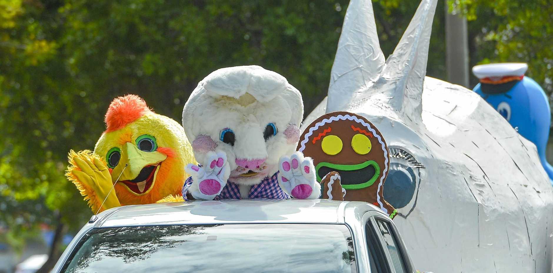 Gladstone Harbour Festival Easter Street Parade for 2018.