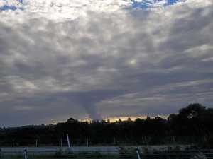 Weird cloud spotted near Ballina