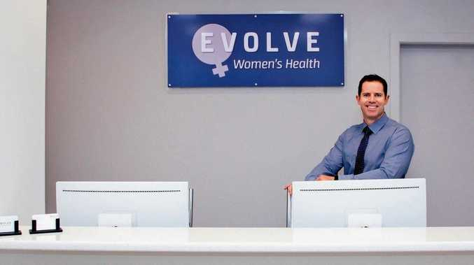 NEW DOCTOR: Dr David Chettle has moved from Brisbane to Toowoomba to open Evolve Women's Health at St Vincent's Private Hospital.