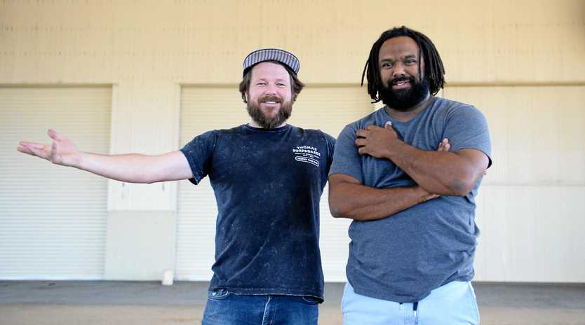STATE REPS: Local Rocky band Busby Marou have become the face of Tourism Queensland's latest campaign.