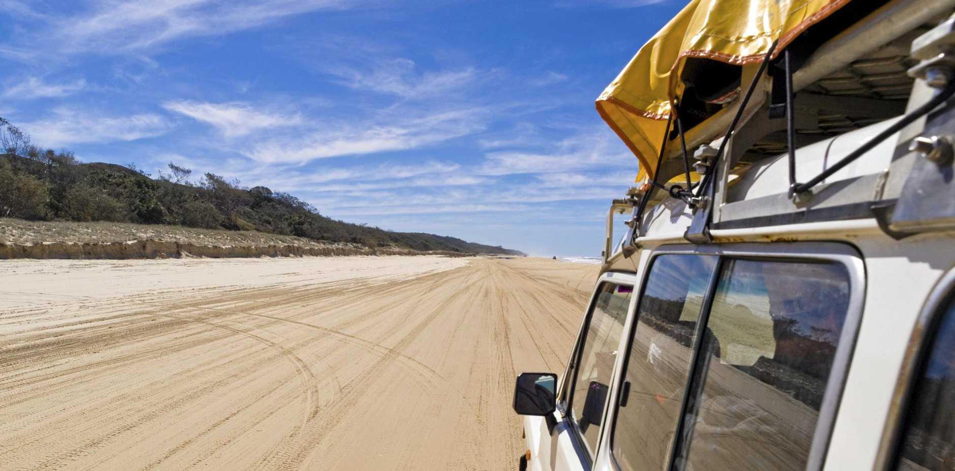 Four Wheel Drive trip on Fraser Island in Queensland, Australia
