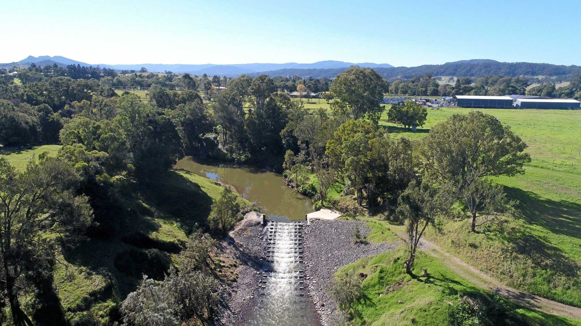 Included in the Kyogle Water Supply Augmentation Project was an upgrade to the fishway.