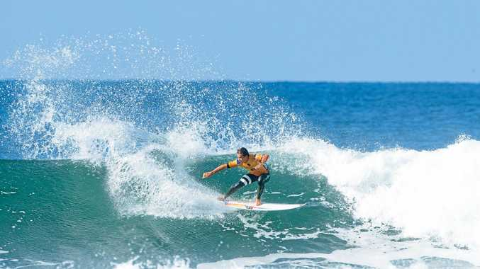 OUT: Julian Wilson was eliminated form the Rip Curl Pro Bells Beach on Monday.