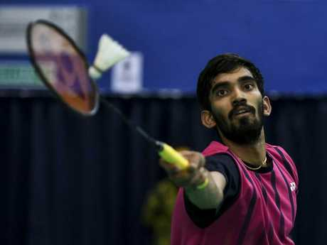 Kidambi Srikanth is a superstar of Indian sport. Picture: Getty Images