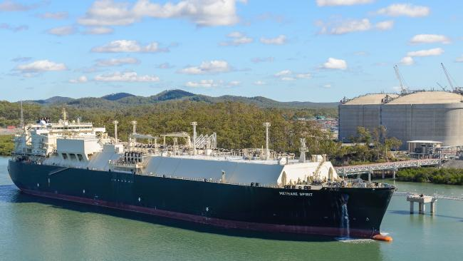 The first shipment of LNG left the Curtis Island facility in January 2016.