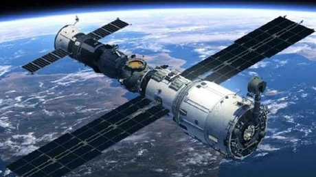 The Tiangong-1 Chinese space station is likely to smash back down into Earth. Picture: Supplied