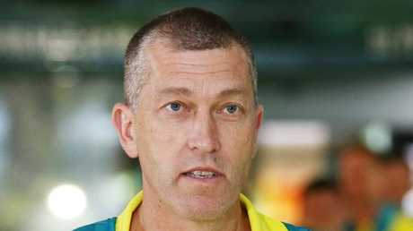 Basketball teams from around the Commonwealth have arrived in Cairns to begin the Commonwealth Games pool games ahead of the finals on the Gold Coast. Australian men's coach Andrej Lemanis. PICTURE: BRENDAN RADKE.
