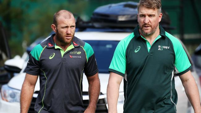 """Rugby sevens star James Stannard, left, is """"heartbroken"""" to be missing the Commonwealth Games."""