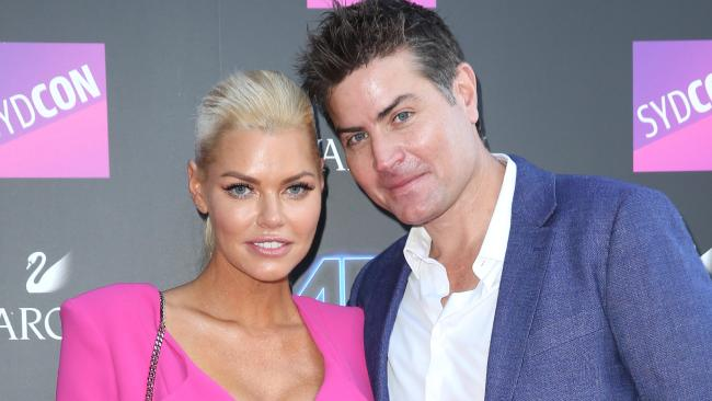The couple at the ARIAs last year. Picture: Richard Dobson