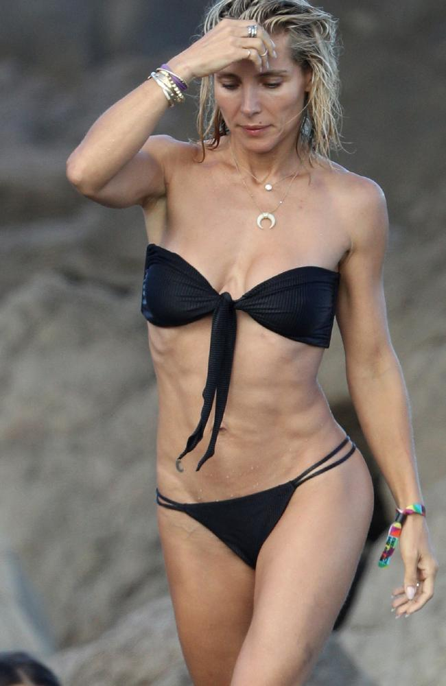 Elsa Pataky clearly works hard to maintain her amazing body. Picture: KHAPGG / MEGA