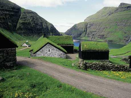 The picturesque Faroe Islands.