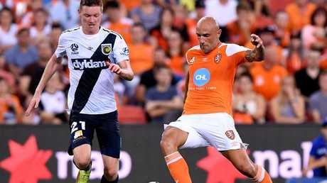Massimo Maccarone has been in great form for the Roar.