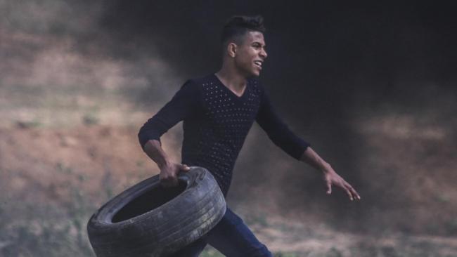 Abdul Fattah Abdul Nabi was shot dead in the Gaza Strip on Good Friday.