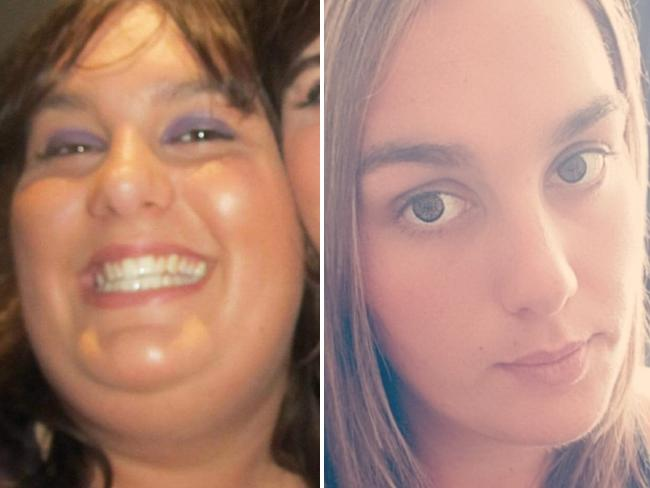 Ashleigh has taken plenty of photos to document her transformation. Picture: Supplied