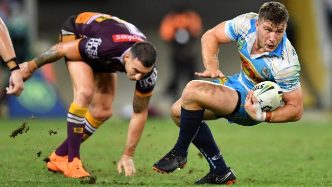 There were too many mistakes from the Broncos. (AAP Image/Darren England)