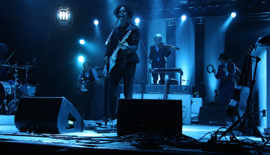 MEMORIES: Jack White at Splendour in the Grass 2012.