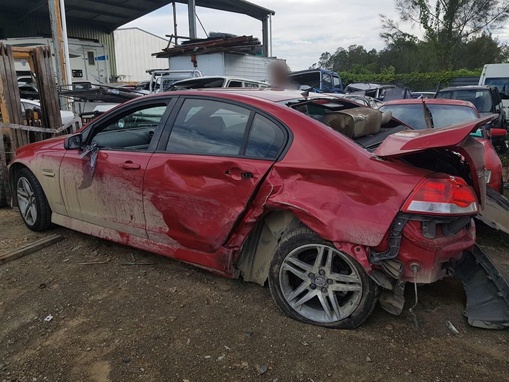 Joel Turner of Evans Head was devastated to find his car had been stolen and involved in a high-speed police chase, before crashing.