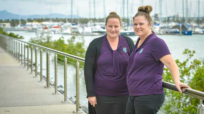 SIGH OF RELIEF: Abi Galbraith and Tracey French from Gladstone Festivals and Events said they had a successful 2018 Gladstone Harbour Festival.