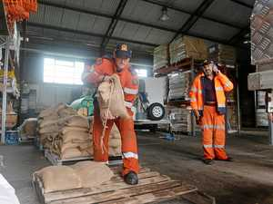 Full list of locations to get sandbags: SES