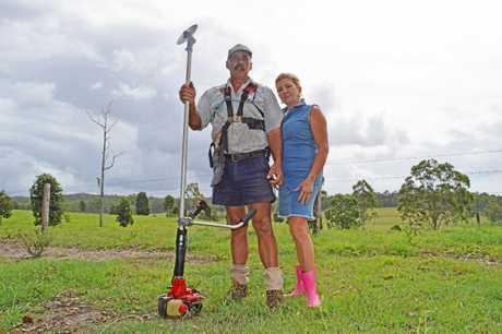 Ian and Sharon Brown.