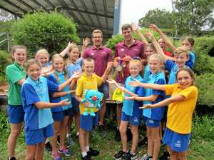 Paralympians visit Sunshine Beach on eve of Gold Coast Games
