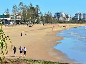 Beach weather returns for Coast swimmers