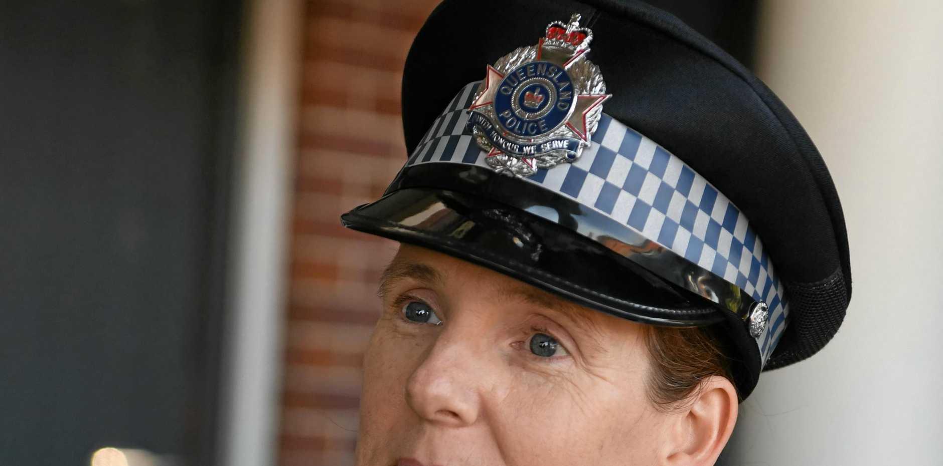 DRUG RAIDS: Senior Constable Danielle Loftus.