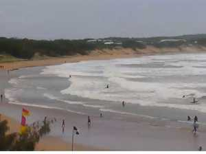8yo girl swept out in rip rescued by lifeguards at Agnes