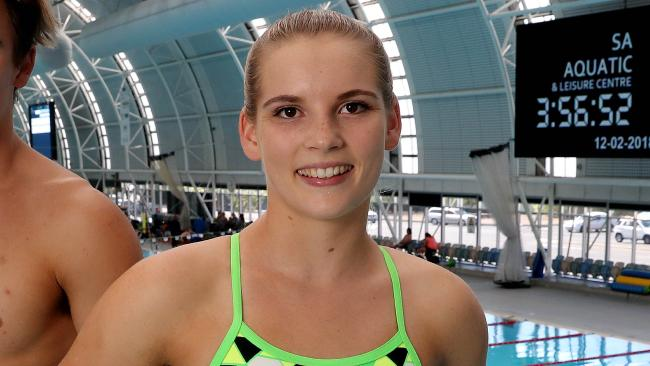 Taneka Kovchenko has been forced to retire from diving on the eve of the Commonwealth Games. Picture: Calum Robertson