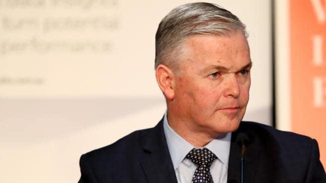 Santos CEO Kevin Gallagher. Hollie Adams/The Australian