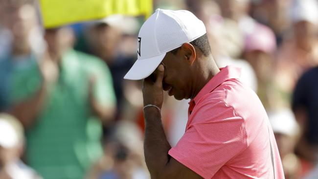 On the eve of the Masters, seriously? (AP Photo/Matt Slocum)