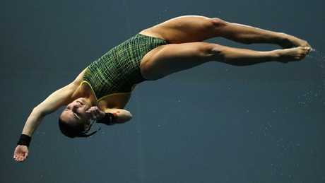 Taneka Kovchenko was due to partner Melissa Wu in the 10m synchronised competition