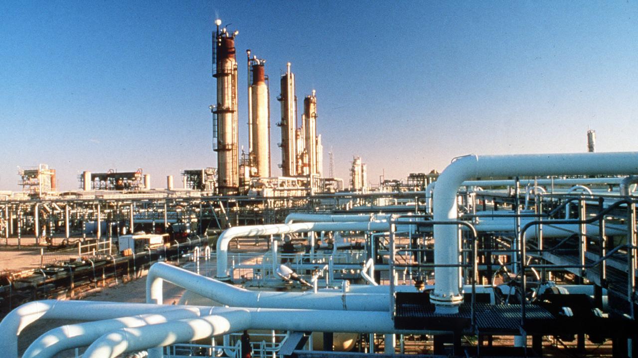 The Santos Moomba gas plant.