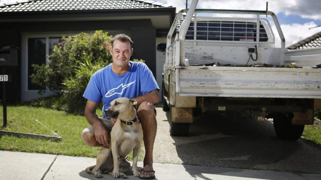 Lincoln Sherlock rescued a man from a vehicle in the Brisbane River in 2015. IMAGE: AAP/Megan Slade
