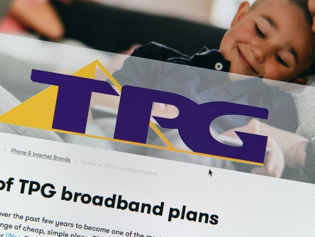 TPG is known as an internet provider in Australia, but they're looking to move into the mobile space. Picture: Dave Hunt / AAP