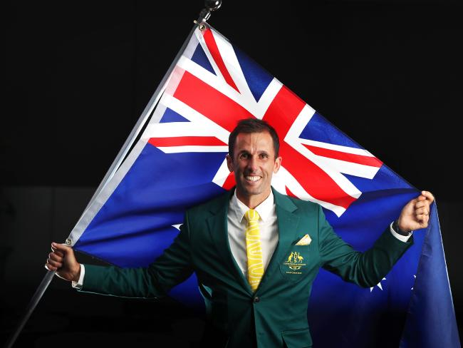 Hockey player Mark Knowles announced as the Australian Flagbearer for the opening ceremony.