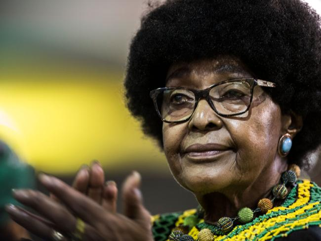 "Winnie Mandela later claimed that ""Mandela let us down"" after the civil rights movement. Picture: AFP/ GULSHAN KHAN"