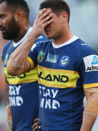 Mitchell Moses's frustration is clear. (Phil Hillyard)