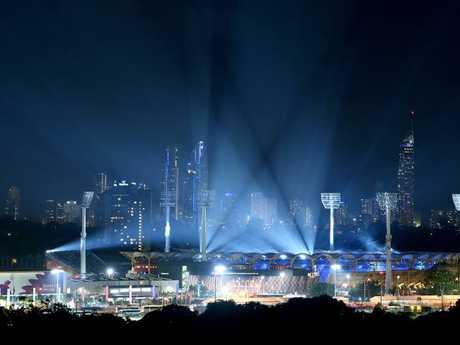 Carrara Stadium on the Gold Coast.