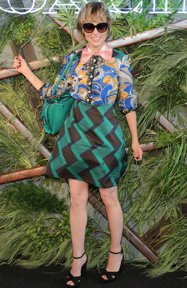 Left field ... Posey attends the Coach And Friends Of The High Line summer Party in New York City in 2016. Picture: Neilson Barnard/Getty Images