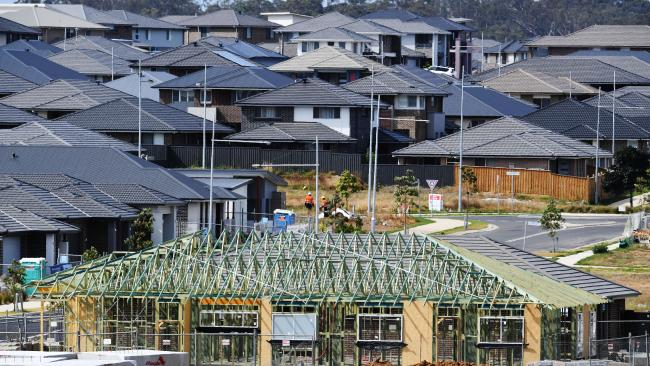 HIA hopes the housing slowdown will ease policy pressure over negative gearing. Picture: AAP Image/Brendan Esposito.