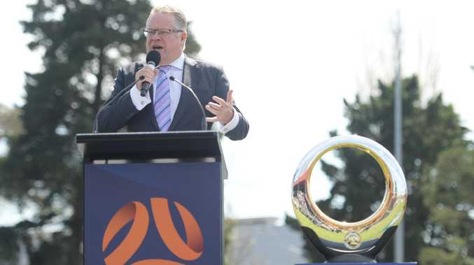 Greg O'Rourke says more derbies was reason for A-League expansion.