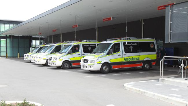 The emergency department at the Gold Coast University Hospital at Parkwood. Picture: Mike Batterham